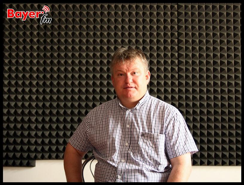 Tomasz Bartnik z Gminnego Zrzeszenia LZS w Ełku