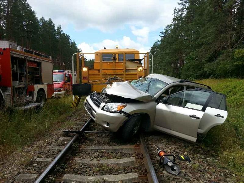 Tragedia na torach – zginął 36-letni kierowca