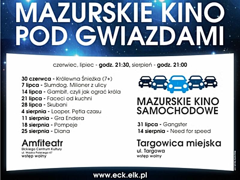 Mazurskie kino pod gwiazdami