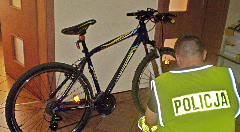 Policjanci odzyskali skradziony rower