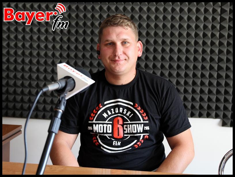 A. Bartoszewicz - organizator Mazurskiego Moto Show