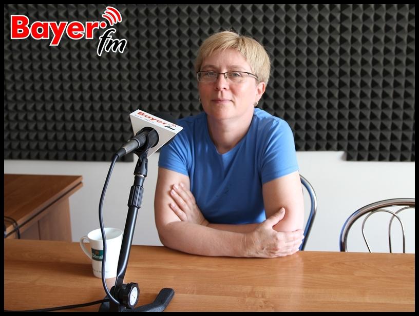 """Agnieszka Domagała z nieformalnej grupy """"Pionki"""""""