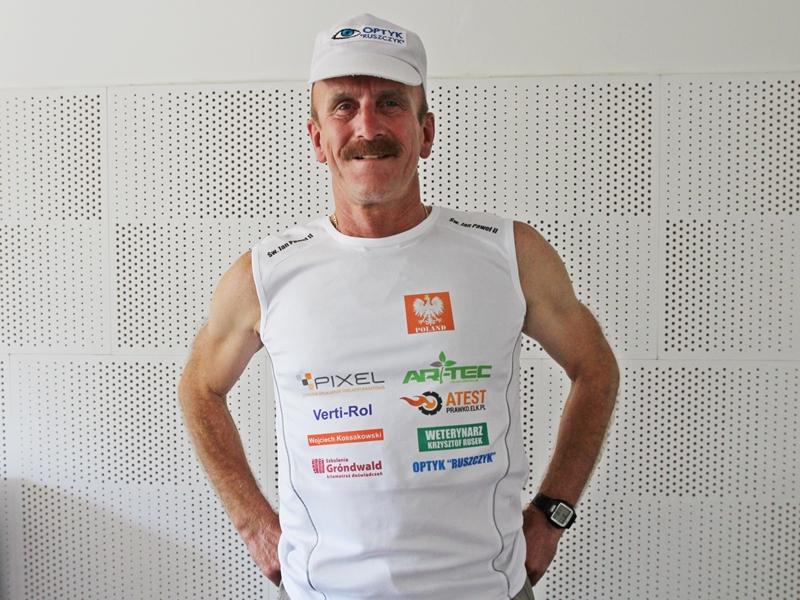 Krzysztof Dudzis na Mistrzostwach Świata