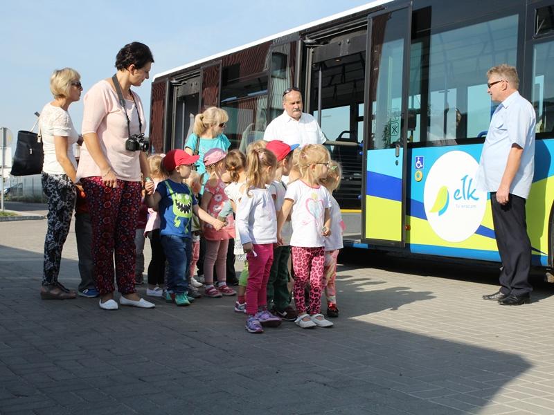Wizyta przedszkolaków w MZK