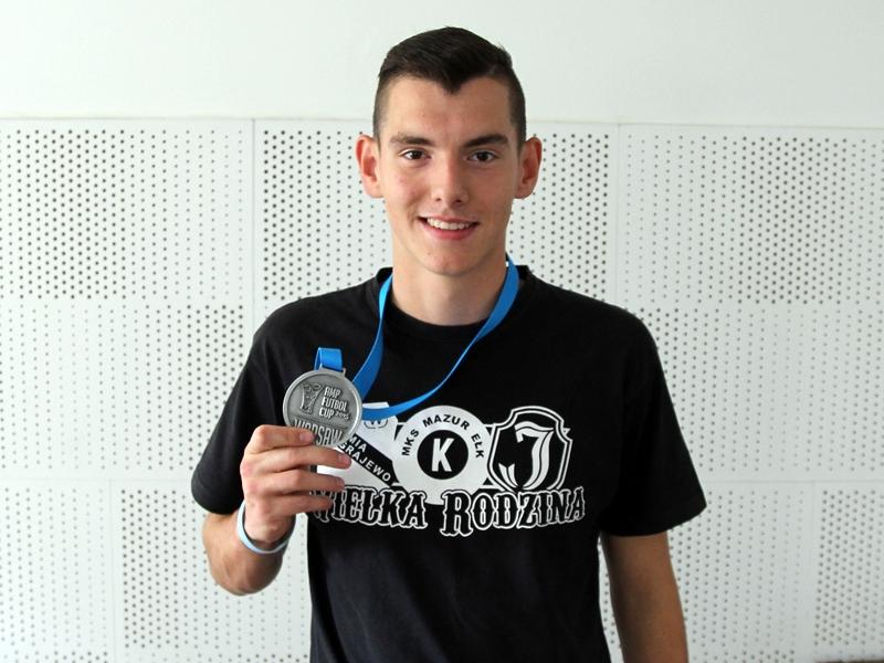 Srebrny Dawid Dobkowski
