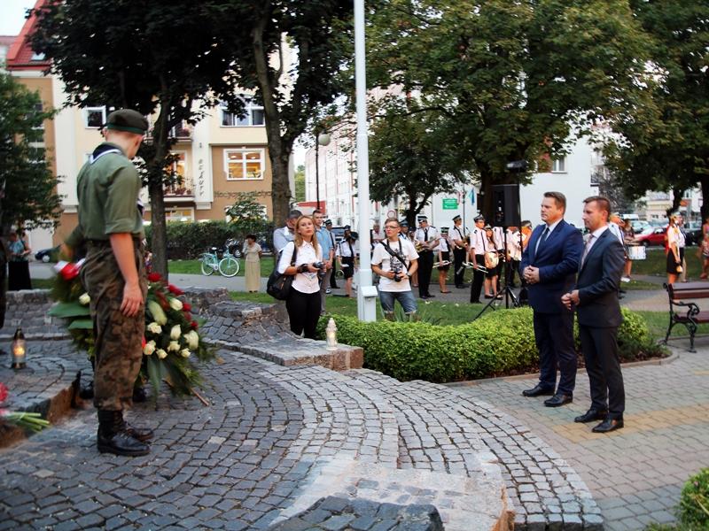 Ełczanie upamiętnili rocznicę wybuchu II Wojny Światowej