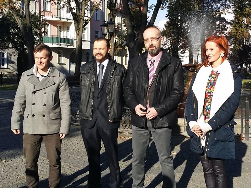 Konferencja kandydatów do Sejmu z partii KORWiN