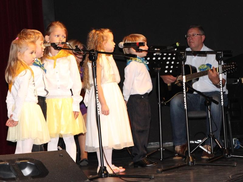Recytowali wiersze i śpiewali piosenki dla św. Jana Pawła II