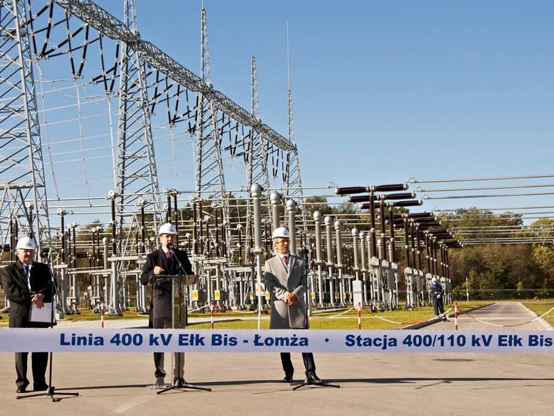 Most energetyczny Polska-Litwa prawie gotowy