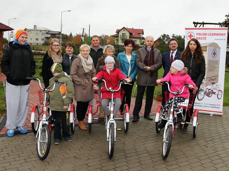 Bezpłatne rowery rehabilitacyjne dla niepełnosprawnych