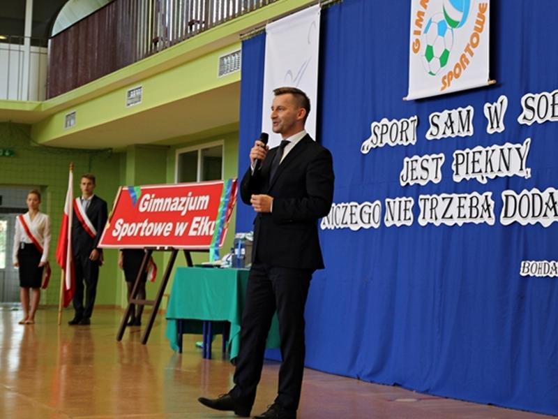 Inauguracja Gimnazjum Sportowego