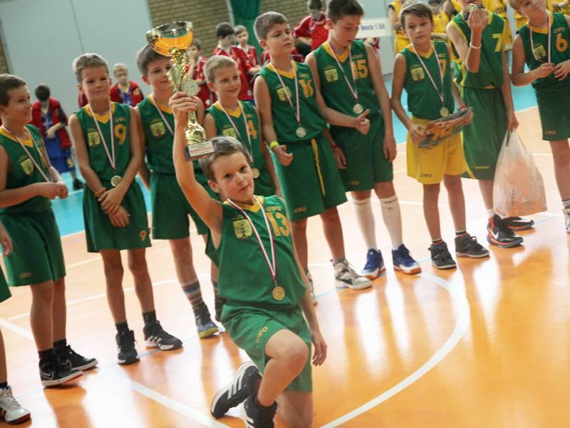 Rywalizowali młodzi koszykarze