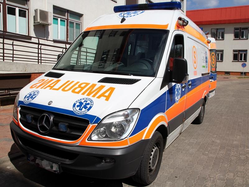 Zderzenie trzech aut. Jedna osoba w szpitalu