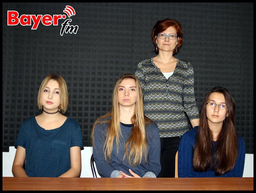 Przedstawiciele Gimnazjum nr 4 w Ełku