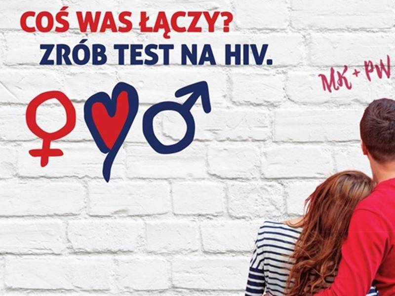 Zrób test na HIV!