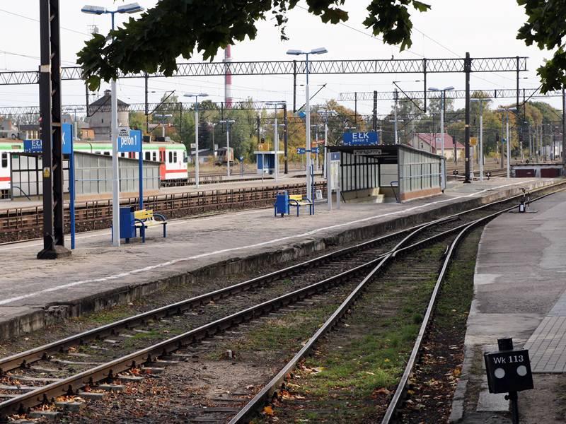 Remont na peronach i w przejściu podziemnym