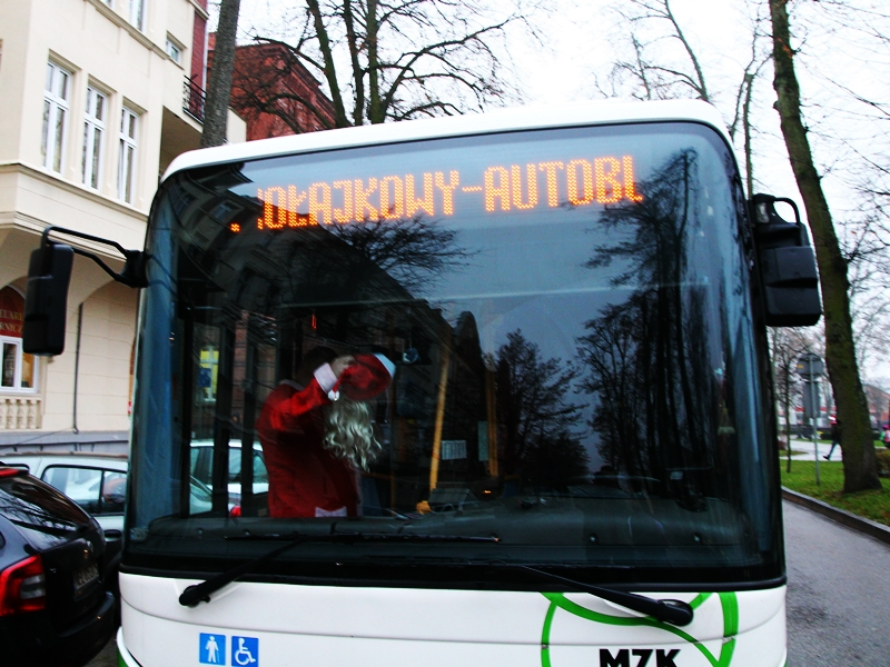 Mikołajkowy Autobus zakończył podróż