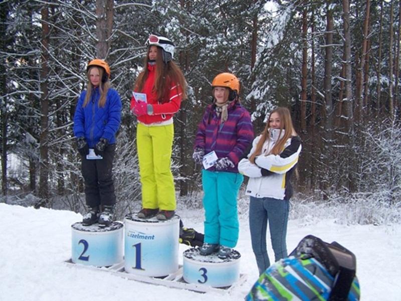 Pierwsze zawody w narciarstwie zjazdowym
