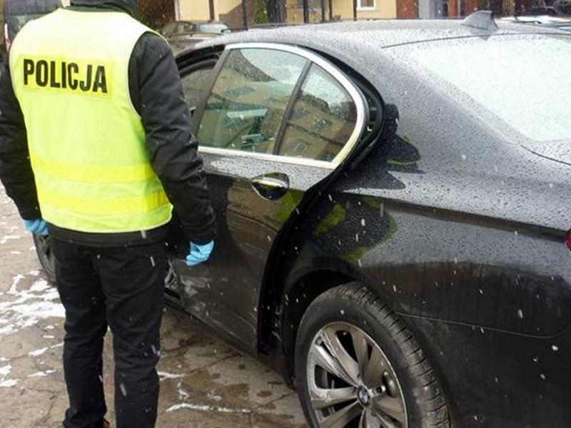 Odzyskali skradzione w Niemczech BMW 7