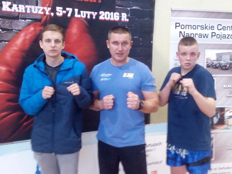 Pierwszy start młodych kickboxerów