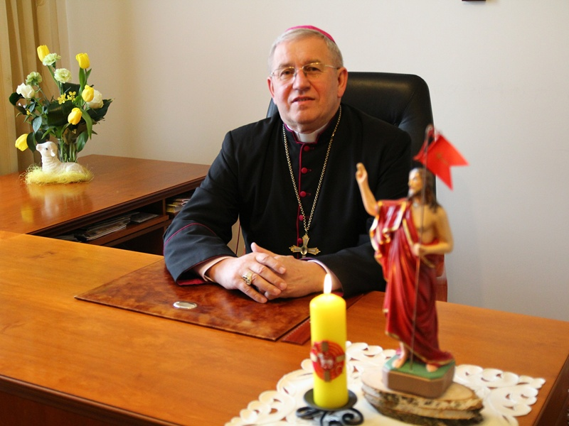 Orędzie Biskupa Diecezji Ełckiej ks. Jerzego Mazura