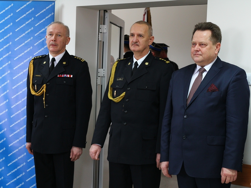 M. Hołubowicz nowym Komendantem Wojewódzkim PSP