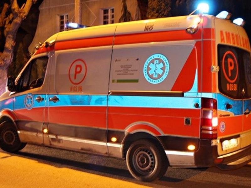 Pobity 68-latek zmarł w szpitalu