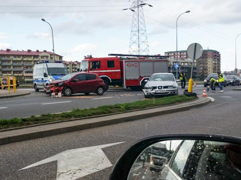 Wypadek na Grajewskiej