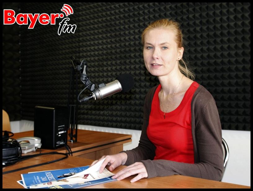 Magda Szumska z ełckiego muzeum