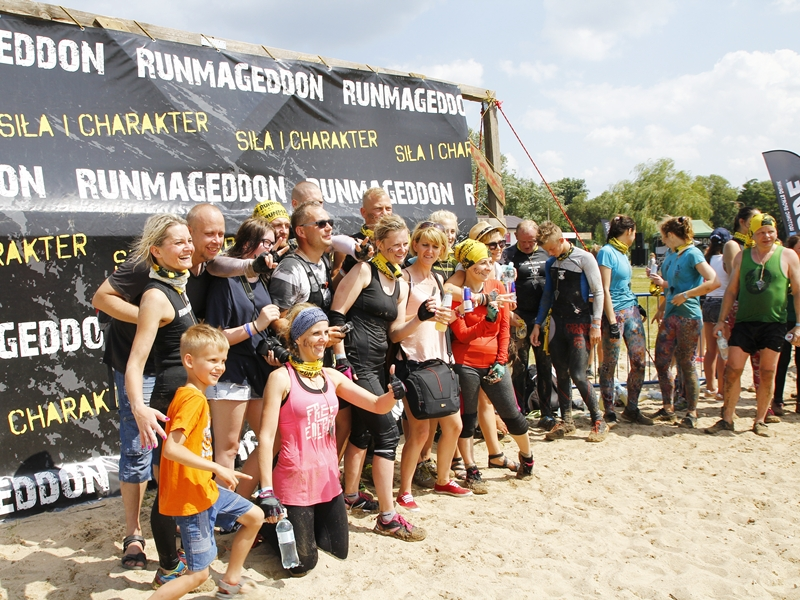 Ponad 1100 osób na Runmageddonie