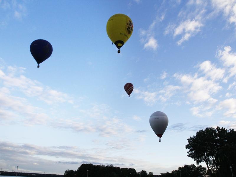 Balony znów latały nad Ełkiem