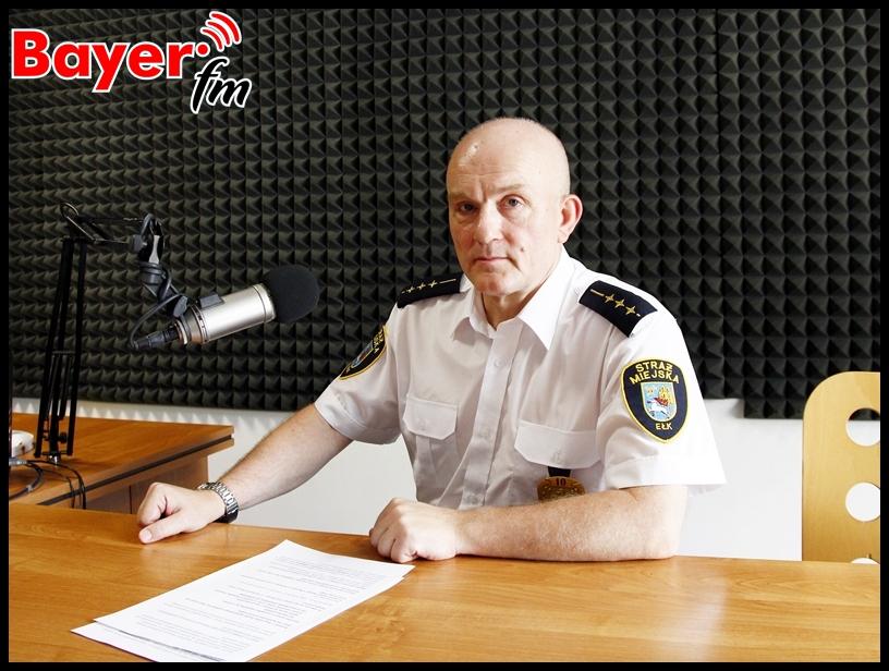 St. insp. Straży Miejskiej w Ełku - Mariusz Dremo