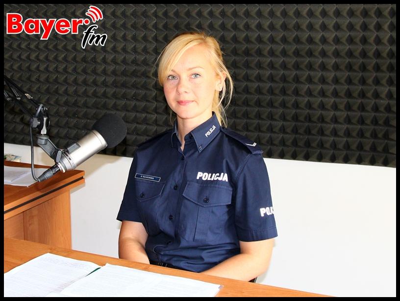 Agata Kulikowska - oficer prasowy KPP w Ełku
