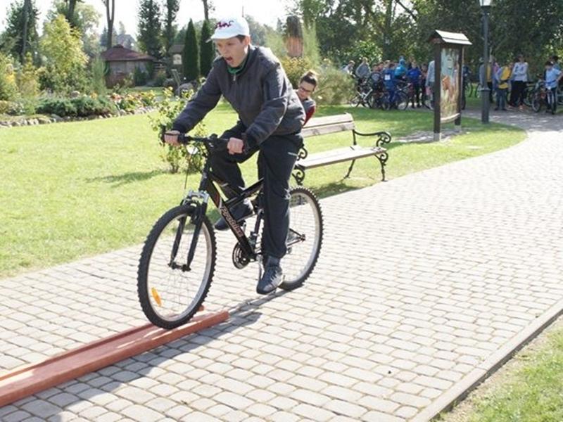 Turniej rowerowy na zakończenie ETZT