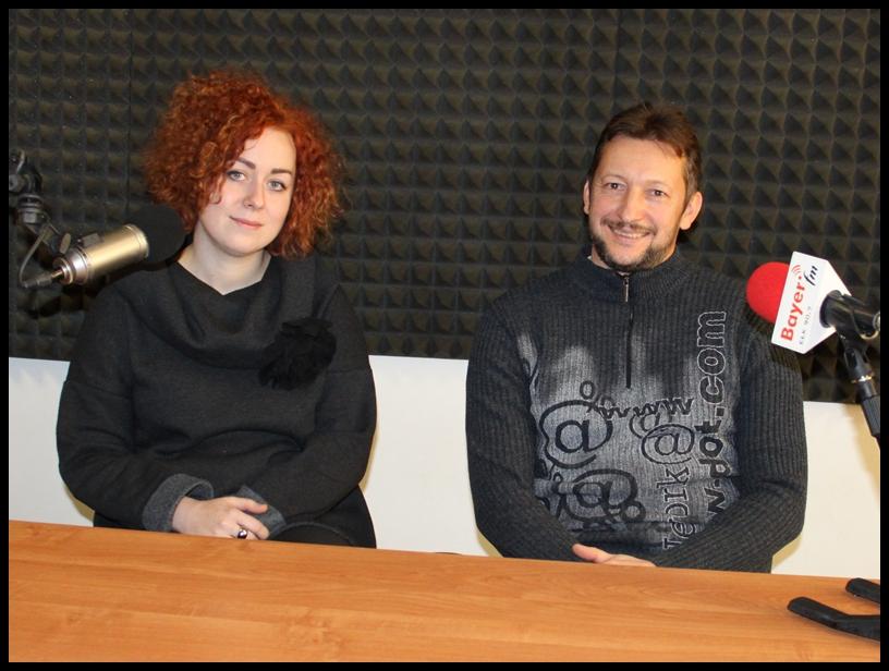 Katarzyna Hoffmann i Krzysztof Stolecki z ECK