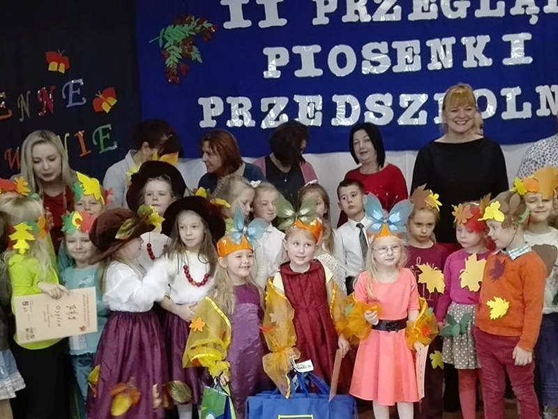 Jesienny przegląd piosenki przedszkolnej