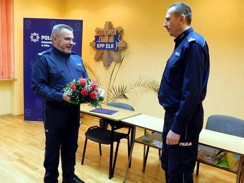 J. Werla zastępcą Komendanta Policji