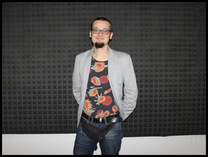 Karol Paszkowski ze Stowarzyszenia STOPA