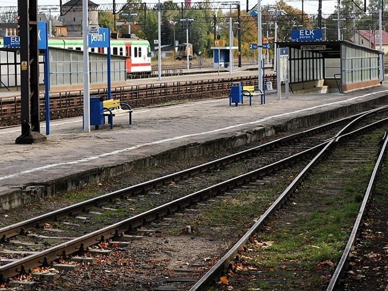 Szybciej koleją z Ełku do Olsztyna