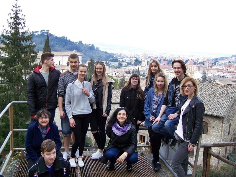 Uczniowie ZS nr 1 na stażach we Włoszech