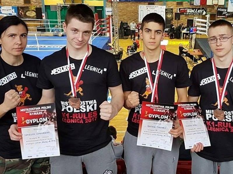 Trzy brązowe medale na Mistrzostwach Polski K1