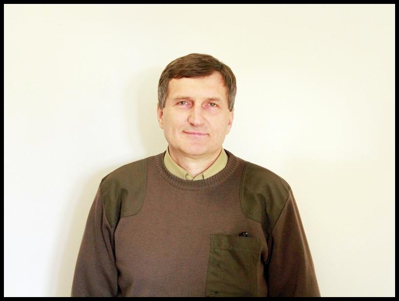 Andrzej Wyłucki - nadleśniczy Nadleśnictwa Ełk