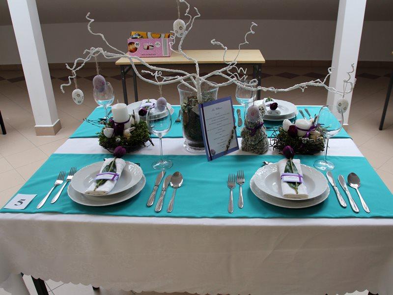 Konkurs nakrywania stołów