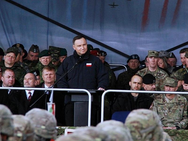 Prezydent powitał żołnierzy NATO