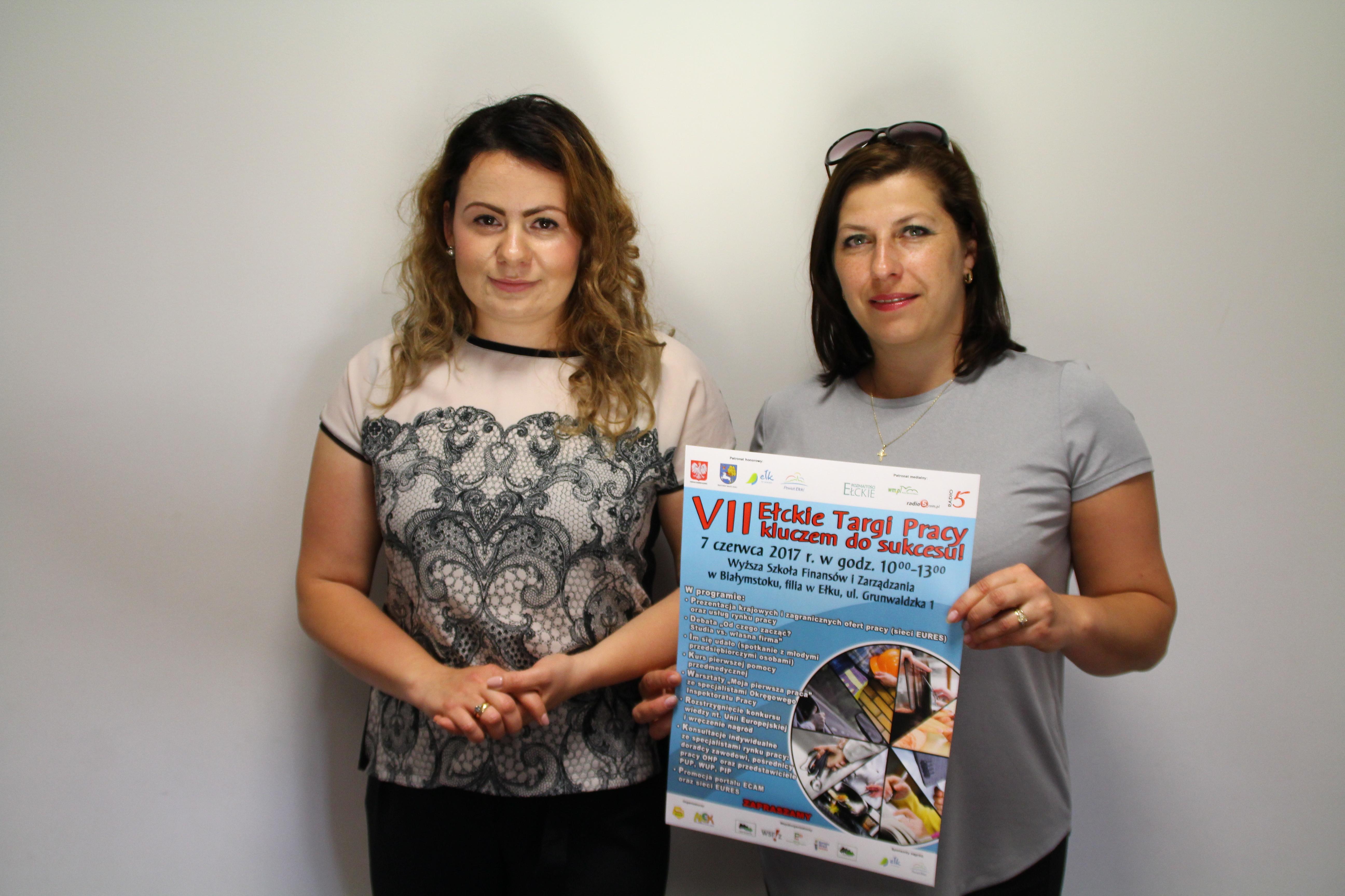 Beata Różańska i Beata Warsiewicz z MCK OHP Ełk