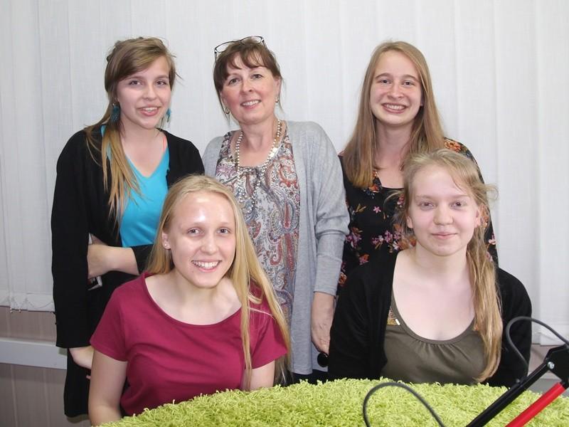 Przedstawicielki Zespołu Szkół nr 8 w Suwałkach