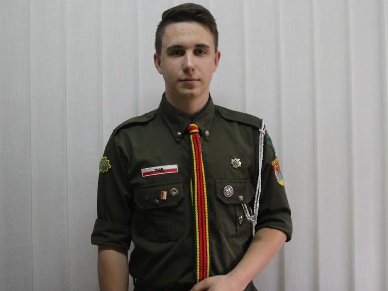 Piotr Rydzewski z ZHR
