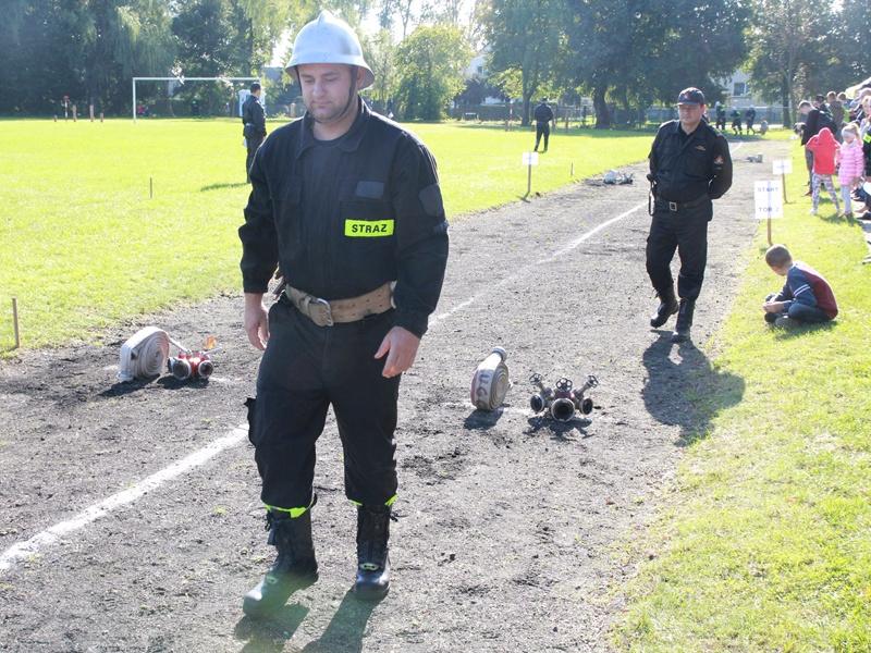 Rywalizują strażacy ochotnicy
