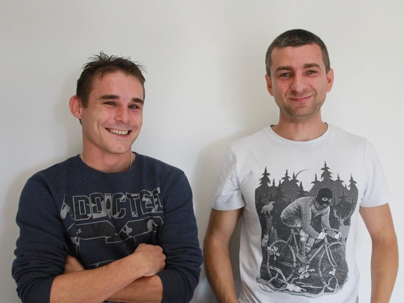 Karol Malinowski i Michał Łebski