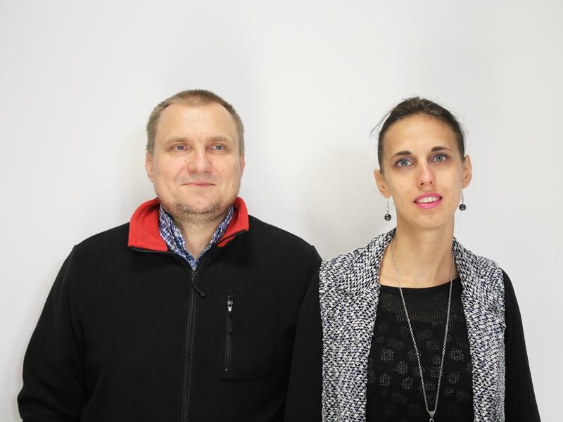 Tomasz Chomicz i Marta Słuchocka